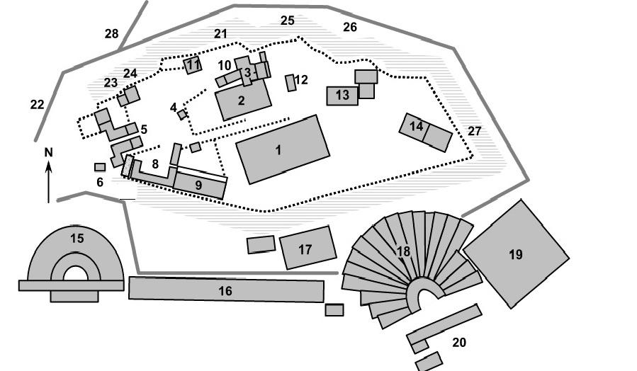 Acropolis Site Plan