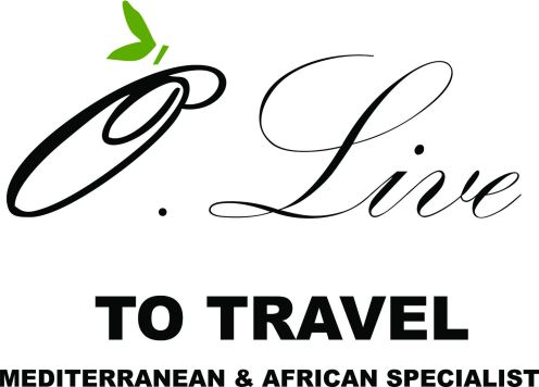 O Live to travel mediterranean & african Specialist logo - thin