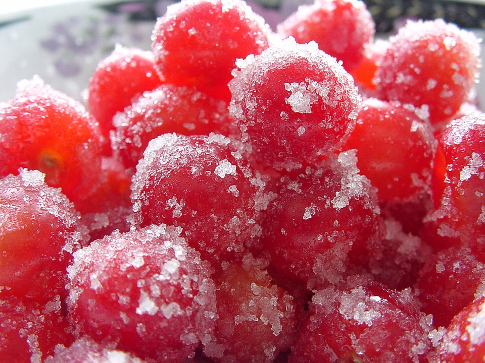 Sugar Coated cherry