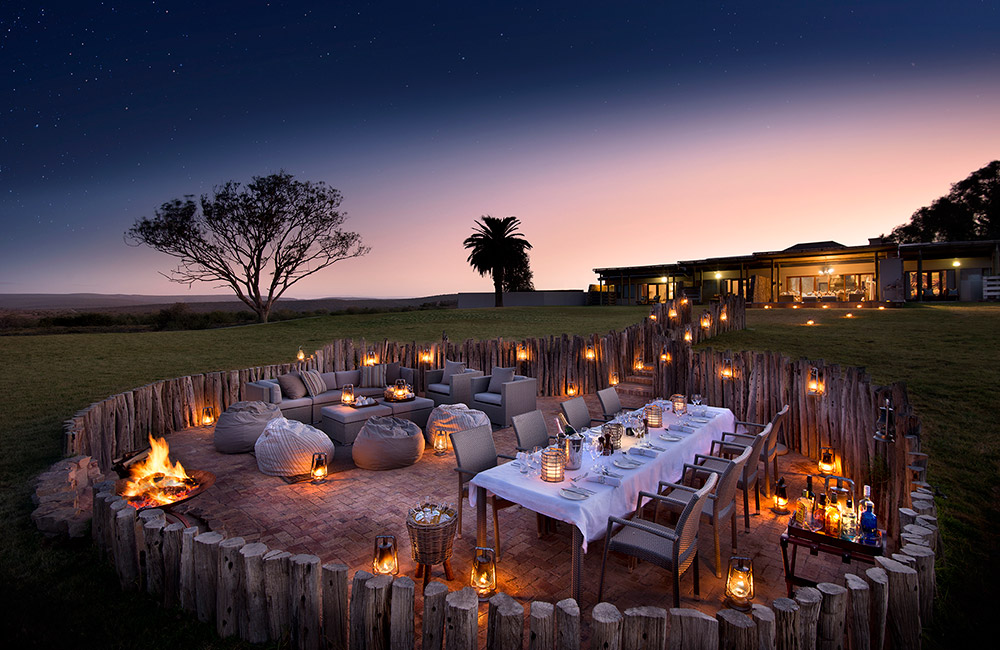 Kwandwe-Fort-House-boma-night