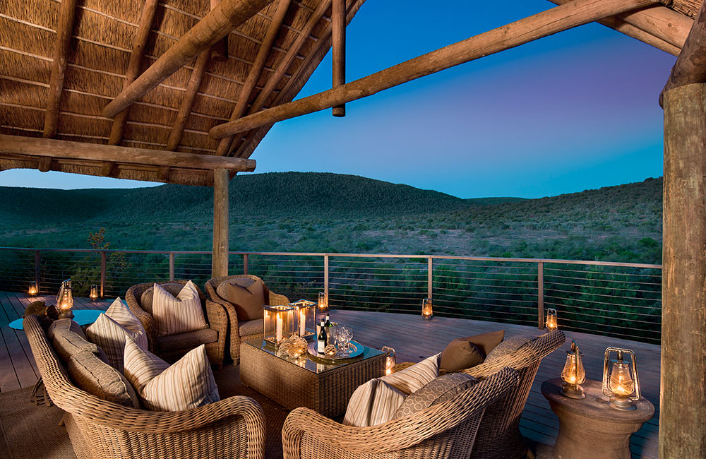 Kwandwe_Fish River Terrace at Night
