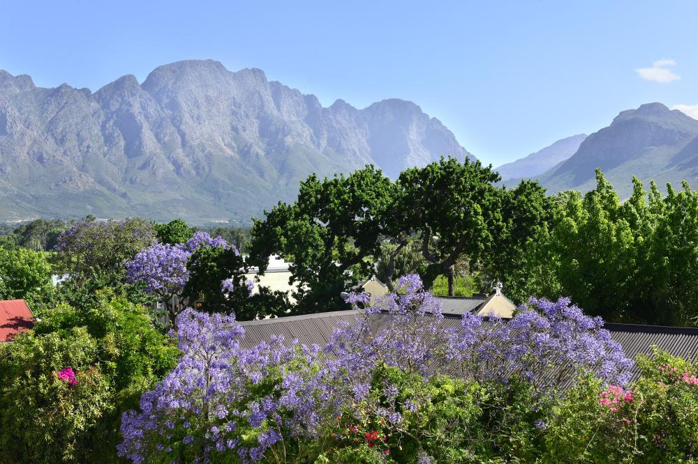 Franschhoek Boutique Hotel View From Rooms (1)